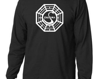 Dharma Initiative Long Sleeve T-Shirt From the TV Show Lost