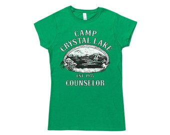 Womens Camp Crystal Lake Counselor T Shirt