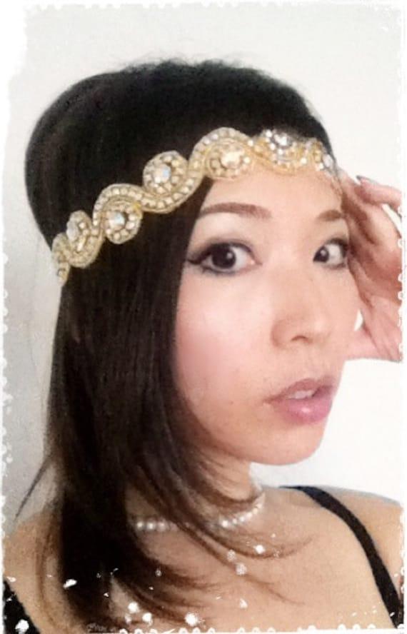 Flapper Headpiece nz Crystal Headpiece-flapper