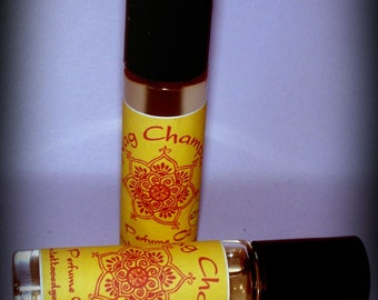 Nag Champa Oil Fragrance Oil Roller Vegan Perfume