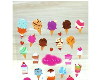 Sticker Ice Cream ST14195