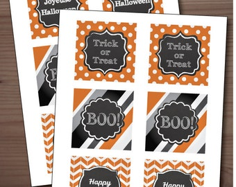 Printable Halloween Tags