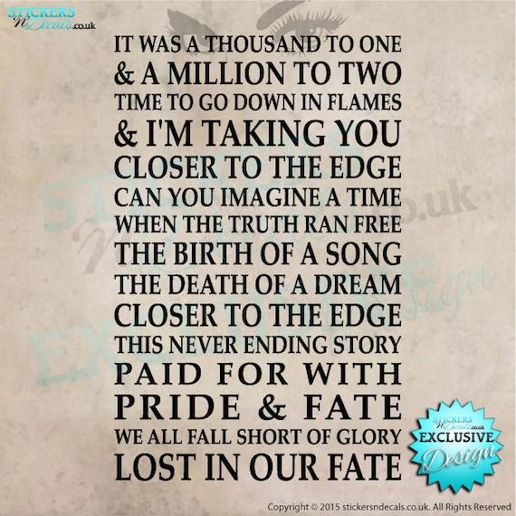 30 Seconds To Mars - Closer To The Edge Lyrics - YouTube