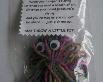 A LITTLE FIT Saying (2) - HANDMADE - Gift - Stocking Filler - Gag Gift