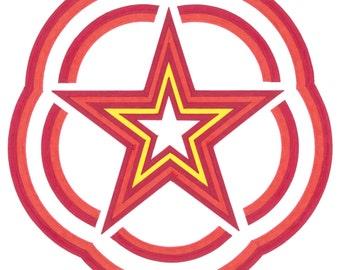 La Estrella - Geometric Modern Art