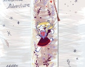 Enchanted Adventure Tassle Bookmark in Protective Sleeve