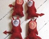 Feline Retribution Cat Toys - Dr. Who, LOTR, Star Trek fans, vengeance is yours!  - organic catnip filled - wicked fun cat toys