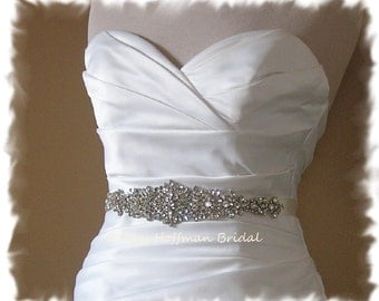 Bridal Sashes Bridal Accessories By Debbyhoffmanbridal On Etsy