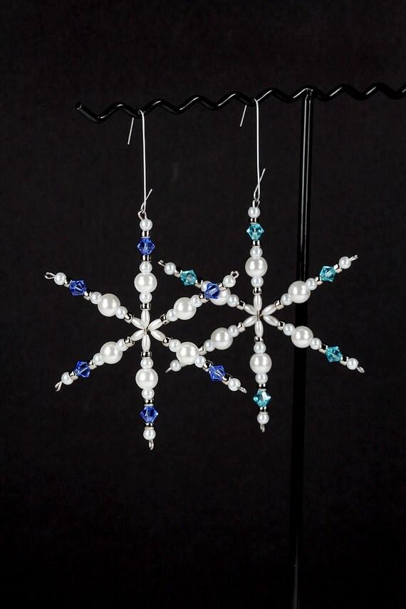 Crystal Christmas Tree Earrings