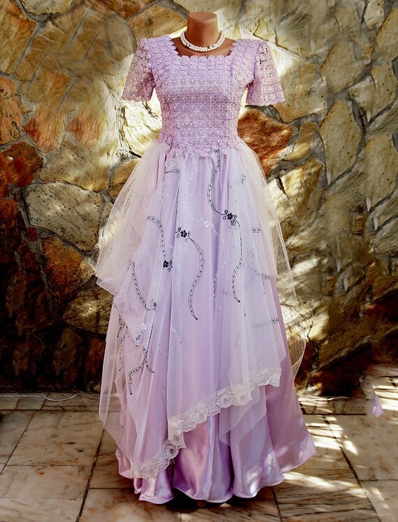 Lila,alternative wedding dress/engagement dress/bridesmaid/ evening prom / altered couture