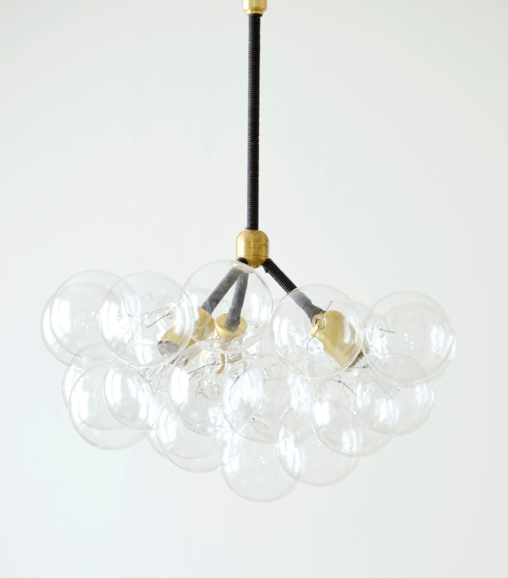 the three branch bubble chandelier 20 diameter by thelightfactory. Black Bedroom Furniture Sets. Home Design Ideas