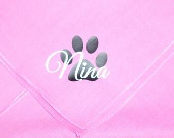Custom Personalized Pet Bandanas