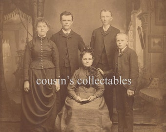 Vintage Family Photo Download