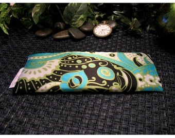 Soothe Puffy Eyes. Migraine Headache Relief Pillow. Wedding Party Gifts. Organic Lavender for Insomniac. Flax Seed Eye Pillow