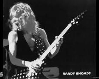 Quiet Riot Randy Rhoads Rare Vintage Poster