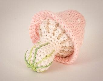 Mushroom rattle pink