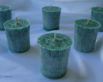 Zen Garden Votive Palm Pillar Candle