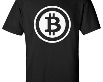 Bitcoin T-Shirt 100% Screen Printed ***Free Shipping***