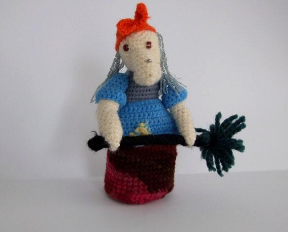 Amigurumi Russian Dolls : Unique Russian Boogiewoman Amigurumi Doll