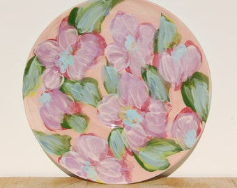 Lesal Hand Painted Porcelain Plate