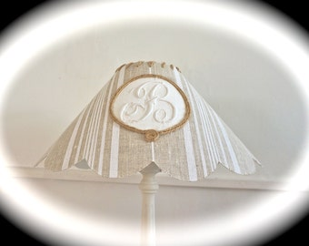 "MONOGRAM ""B"" LAMPSHADE"