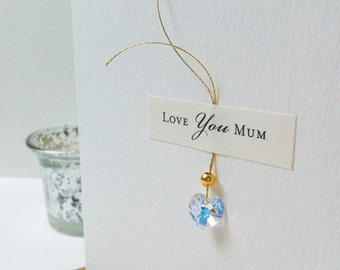 Mother's Day Card, Card For Mum, Love You Mum Card, Mothers Day