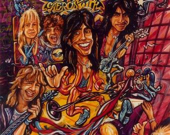 Aerosmith - Pump Tour - The Train Keeps a Rollin