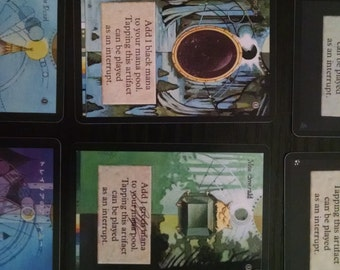 Magic the Gathering alters and proxies