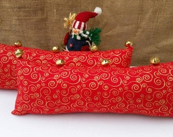 Christmas Jingle Bells pillow