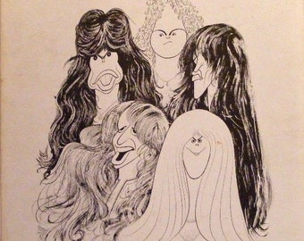 Aerosmith Draw the Line Vinyl LP