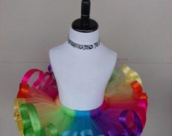 Bright colors, rainbow tutu