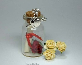 A ROMANTIC Message In A Bottle Gift