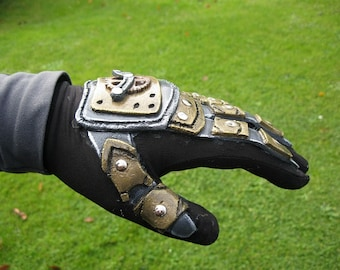 MADE TO ORDER Steampunk Glove for larp and cosplay