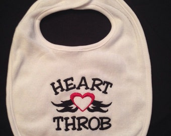 Heart Throb Bib