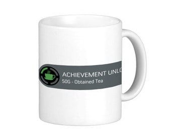 X-Box Achievement Mug - Tea.