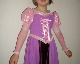 Girl's Rapunzel Carnival Costume