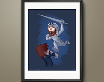 Ghosts'n Goblins Video Game Art Print