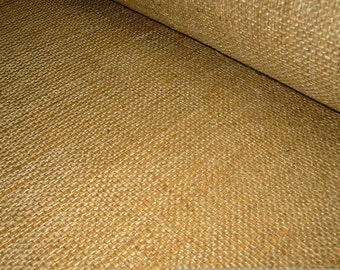 fabric jute nature sackcloth excess width 192 cm wide