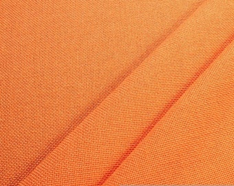 fabric Trevira® CS orange heavy flame resistant B1 80.000 Marindale upholstery