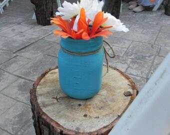 Colored Mason Jars