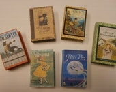 Miniature Book Ornaments