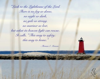 Grassy Lighthouse -quote-
