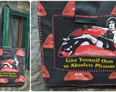 Rocky Horror Picture Show themed hand made bag