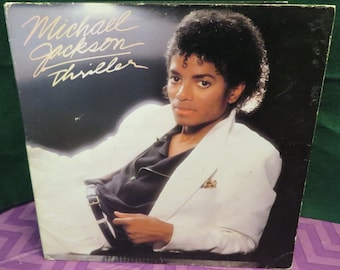 Michael Jackson Record Thriller 1982