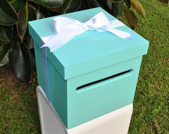 Timber Wishing Well Card Keeper Box for Wedding or Engagement