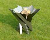 Steel Fire Pit PHOENIX FLOWER - Contemporary Design