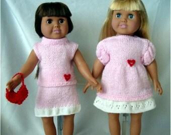 Knitting Patterns For 10 Inch Dolls : Ski and Skate Wear PDF Knitting Patterns for 18-Inch Dolls