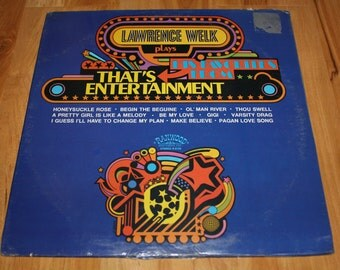"Sealed Lawrence Welk ""Plays His Favorites From Thats Entertainment"" 1974 Ranwood Records"