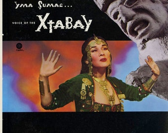 "Yma Sumac ""Voice of the Xtabay""  Original 50's Vinyl LP"