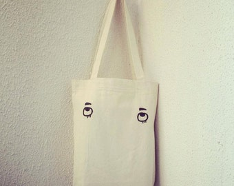"Carry Around tote Bag "" I am  Watching You """